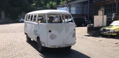 Hurda minibüse 350 bin lira masraf yaptı! İşte son hali...