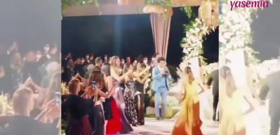Arda Türkmen'in düğününde korku dolu anlar!