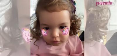 Bengü'nün kızı Zeynep'le eğlenceli videosu
