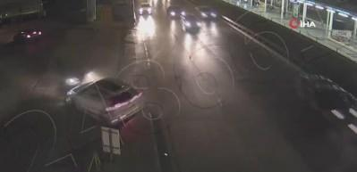 Bursa'da sürücülerin yaptığı ihlaller sonucu meydana gelen kazalar kameralara yansıdı