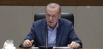 Cumhurbaşkanı Erdoğan: Milletimizin bu balon anketlere gereken cevabı en güzel şekilde vereceğine inanıyorum