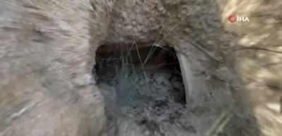 İznik'te defineciler tarlaları köstebek yuvasına çevirdi