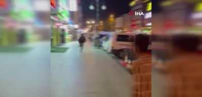 Rize'de dehşet anları! Yabancı uyruklu 5 kişi bıçaklarla saldırdı