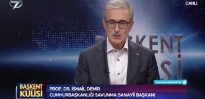 SSB Başkanı İsmail Demir'den F-16 ve F-35 açıklaması