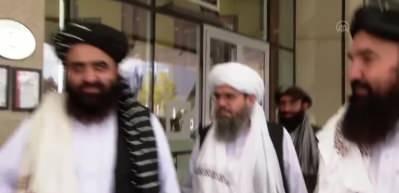 Taliban heyeti ile Bakan Çavuşoğlu'nun görüşmesi başladı
