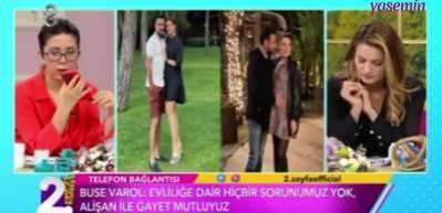 Alişan'ın eşi Buse Varol'dan boşanma iddialarına yanıt