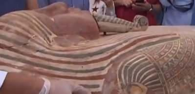 2500 yıllık mumya lahiti açıldı!