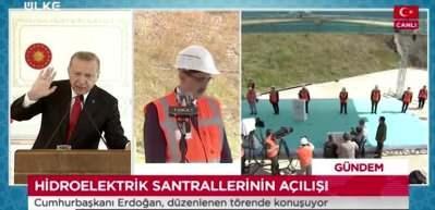 """Cumhurbaşkanı Erdoğan: """"Enerjisi olmayan bir ülkenin medeni olmaktan, kalkınmaktan bahsetmesi mümkün değildir"""""""