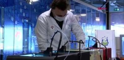 3 boyutlu yazıcılarla siper maske üretiyorlar