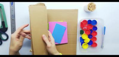 3 malzeme ile çocuklar için kolay zeka oyunu