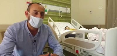 4 yaşındaki İsmail'in Erzurum'da kopan kolu Kayseri'de dikildi