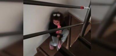 5 Yaşındaki kız çocuğu kovid olan sağlıkçı babasına böyle seslendi