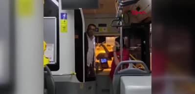 İstanbul'da halk otobüsü şoförü ile kadın yolcu arasında kavga!
