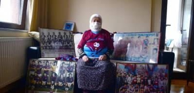 85 yaşındaki Havva Nine: Trabzonspor bir sevda bir tutkudur