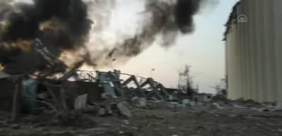 Beyrut'taki patlama sonrası korkunç görüntüler