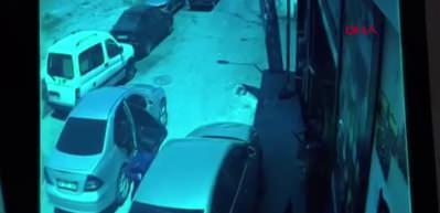 Otomobilden 83 bin liranın çalınması güvenlik kamerasında