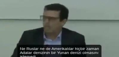 Yunan vekilden bomba itiraf: Bunu sadece Türkler değil tüm gezegen söylüyor