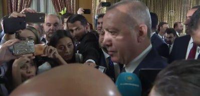 Cumhurbaşkanı Erdoğan: Revize edip gündeme getirmek siyasetçi ciddiyetiyle yakışmaz
