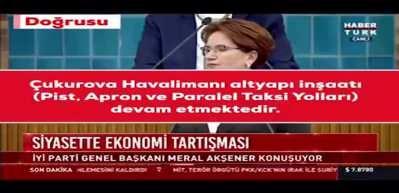 Bakanlık, Akşener'in 'Çukurova Havalimanı' iddialarını yalanlandı!