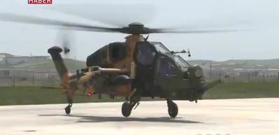 ATAK Helikopteri'nden 19 Mayıs'a özel uçuş