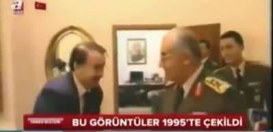 İsmail Hakkı Karadayı FETÖ'cüleri 1995 yılında Genelkurmay'da ağırlamıştı