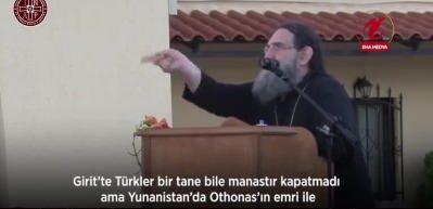 Yunan rahip: Ayasofya'yı koruyan Türkler olmasaydı Ayasofya düşerdi