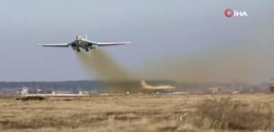 Havada dünyaya gözdağı! Bombardıman uçağından inanılmaz rekor!
