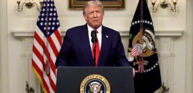 """ABD Başkanı Trump: """"Birleşmiş Milletler, (Kovid-19 salgınına ilişkin) eylemlerinden dolayı Çin'i sorumlu tutmalı"""""""