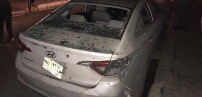 ABD Üssü'ne ve Büyükelçilik yakınına füzeli saldırı