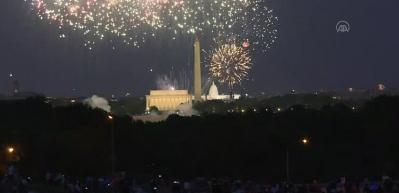 """ABD'de """"4 Temmuz Bağımsızlık Günü"""" kutlamaları"""