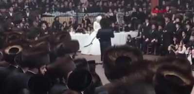 ABD'de akılalmaz görüntü! Sinagogda 7 bin kişilik düğün yaptılar
