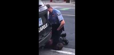 ABD'de polis şüpheliyi boğarak öldürdü! İnsanlık dışı görüntüler