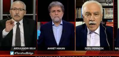 Abdulkadir Selvi 27 Mayıs'ı savunmaya kalkan Perinçek'e haddini bildirdi