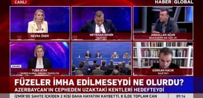 Abdullah Ağar: Ermenistan Türk F-16'larını vurmayı hedefliyordu