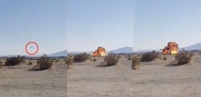 ABD'ye ait iki uçak havada çarpıştı! F-35B böyle yere çakıldı