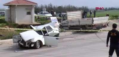Adana'da trafik kazası: 3 ölü, 2 yaralı