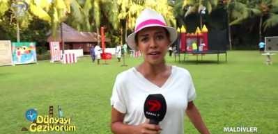 Maldivler'de eğlencenin bol olduğu festival alanı