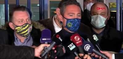 Ali Koç: İlk yarı sezonun en iyi futbolunu oynadık
