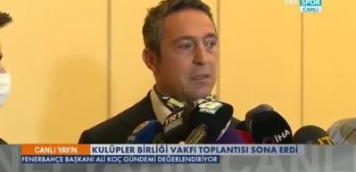 Ali Koç, Mert Hakan için Galatasaray'a tepki gösterdi