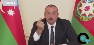 Aliyev'den Türk F-16'ları açıklaması! 'Erdoğan haklı' deyip bombayı patlattı!