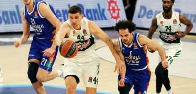 Anadolu Efes'ten Panathinaikos'a 20 sayı fark!