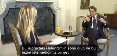 Anastasiadis: Türkiye ile rekabet edemeyiz, Kıbrıs'a Türk müdahalesi Helenizmin sonu olur