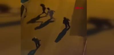 Antalya'da dehşet anları! Yol ortasında 2 kadını tokatlayıp kaçırmak istedi