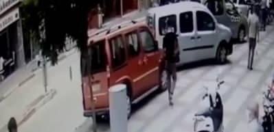 Araba anahtarı görünümünde hassas terazi kullanan uyuşturucu şüphelisi yakalandı