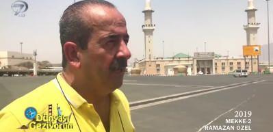 Arafat vazifesinden sonra Efendimiz'in çadır kurduğu yer