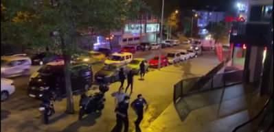 Arnavutköy'de silahlar patladı, kafedekiler böyle kaçtı