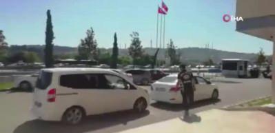 Asker uğurlamak için tünel kapatan magandalar yakalandı