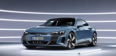 Audi E-Tron GT elektrikli sedan tanıtıldı