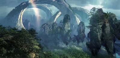 Avatar filminin ilham aldığı orman drone ile çekildi!