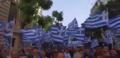 Ayasofya kararı sonrası Yunanlılar haddini aştı! Türk bayrağı yaktılar